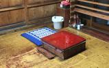 村上木彫堆朱 池野漆工芸 作業台