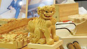 仏壇彫師によるお獅子