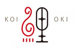色漆鯉箸置きロゴ