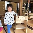 野本さん子供用桐の椅子