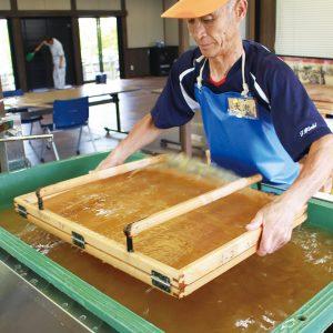 福島潟ヨシあし和紙の会
