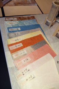 生紙和紙展示