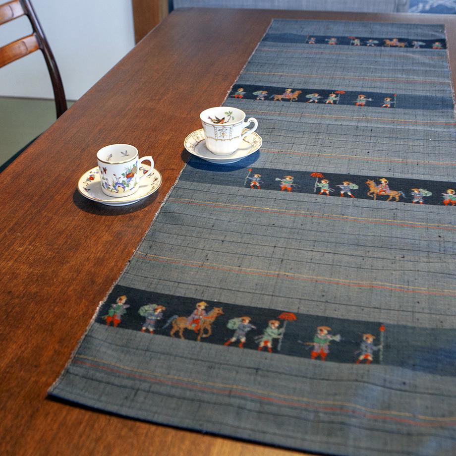 小千谷織物 テーブルランナー