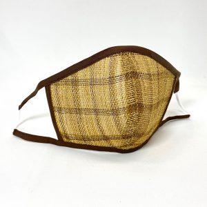 大滝ジュンコ・羽越しな布 洗って使えるしな布マスク